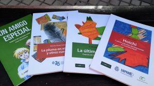Cubiertas de los libros en Lectura Fácil publicados por Sinpromi.